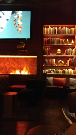 The Library Room at the Dorsey Cigar Bar at the Venetian.